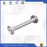 Tuyau tressé/canalisation de métal flexible de tuyau d'acier inoxydable de matériaux anti-caloriques
