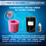 Estanho Cured Silicone Rubber para Delicated Candle e Soap Making