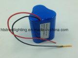 6.4V de Batterij LiFePO4 van het lithium voor het Licht van de Noodsituatie