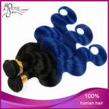 バージンブラジルボディ波2の調子のOmbreの毛の拡張