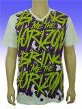 T-shirt chaud de bonne qualité de sublimation de mode de vente