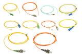 경쟁적인 LC/Sc/FC/St/Mu/MPO 광섬유 떠꺼머리
