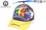 El niño tejido 3D de la corrección del algodón de la alta calidad embroma la gorra de béisbol con la impresión