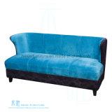 Софа бархата комнаты стильного типа ткани живущий (HW-6708S)