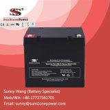 Batterie d'acide de plomb scellée profonde de batterie solaire de gel du cycle 12V 50ah