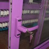 Fechamento revestido pó do punho com o indicador de deslizamento de alumínio chave K01054