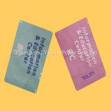 tarjetas que juegan educativas plásticas de tarjetas del espesor el 100% de 0.3m m