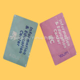 0.3mm 간격 100% 플라스틱 교육 카드 놀이 카드