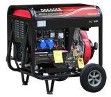 Motor diesel aberto e tipo de Bobbi de gerador do diesel 5kw