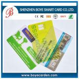 Пользовательская цветная печать Clear Business Card