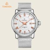 Van het Bedrijfs roestvrij staal van de Horloges van het Merk van de Mensen van de luxe Kwarts Wristwatch72235