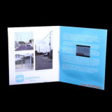 2.4 '' LCD Video Cards/Video Brochure voor Business of Wedding