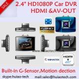 """Preiswerteste HD108p Auto-Digital-Schreiber-Kamera mit 2.4 """" HD TFT; HDMI heraus; Handels-heraus; Nachtsicht DVR-2406"""