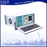 Verificador da proteção do relé do microcomputador de 6 fases