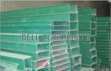Bandeja de cable de la fibra de vidrio de FRP/GRP, tipo bandejas de la escala de cable
