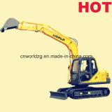 Venta caliente excavadora de cadenas 8tons con Yanmar