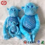 Le modèle neuf de singe mou bleu-foncé badine le jouet de la peluche 2015