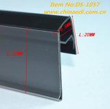 Mensola di plastica bianca di Forglass di profilo del PVC (DS-1057)