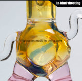 As tubulações de fumo coloriram a mão fundida do cachimbo de água da cera da SOLHA da tubulação a mão de vidro