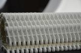 Banda transportadora modular plástica creciente de la fricción con cauchos
