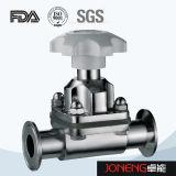Válvula de diafragma de dos vías de la transformación de los alimentos del acero inoxidable (JN-DV1013)