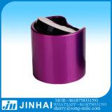 20/410 de tampão de alumínio da parte superior do disco do metal de Golen da tampa plástica
