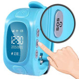 Vierfache Leitung Band GPS Kids Tracker Watch mit Zwei-Methode Talking und PAS Button Wt50-Ez