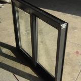 Finestra di scivolamento di alluminio della serratura a mezzaluna rivestita della polvere di buona qualità Kz093