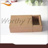 Rectángulo de regalo de empaquetado reciclado venta al por mayor del papel de Kraft