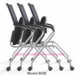 Modernes Büro-Ineinander greifen-Sitzungs-Metallfaltender Trainings-Stuhl (E802-2)