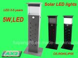 Éclairage LED de jardin de détecteur solaire avec le certificat de la CE