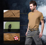3 색깔 빠른 Drying Outdoor Sports Riding Climbing Assault T-Shirts