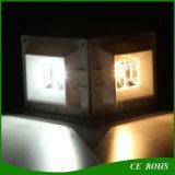 Da cerca opcional do quadrado do jardim do sensor de PIR luz solar da parede do diodo emissor de luz da lâmpada