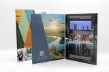 2016熱い販売のカスタマイズ可能なビデオパンフレット-図形カードグリーティングのカード