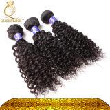 Отсутствие человеческих волос курчавых волос путать малайзийских Kinky естественных черных