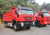 camion à benne basculante de 6X4 340HP Saic Iveco Hongyan Genlyon