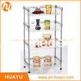 4 Basketsの4層Powder Coated Commercial Mobile Wire Shelving