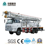 Fabricación profesional de agua de perforación de camiones de 600 metros de profundidad