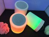 タュチ・コントロール夜ライト(ID6006)が付いているBluetoothの携帯用無線スピーカー