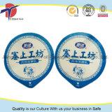 101mm Durchmesser-Ebenen-Heißsiegel-Folien-Kappe für Joghurt