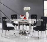 Wohnzimmer-Möbel-Hauptspeisetisch mit Marmoroberseite