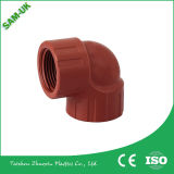 높은 Toughness 및 Strength Pph Threaded Pipe Fittings 및 Elbow