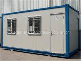 Chambre modulaire préfabriquée de conteneur de paquet plat pour le bureau et les zones mémoire
