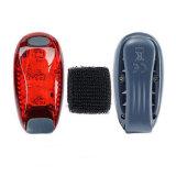 Задействуя светильник велосипеда безопасности задний предупредительный световой сигнал Bike 3 СИД