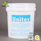ラテックス塗料またはコーティングのためのハンドルのふたが付いているプラスチックバケツ
