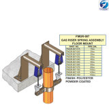 Montagem do Braçadeira-Assoalho do conjunto da mola do montante do gás (séries FMGR-007)