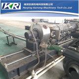 Tsc50-120 기계를 만드는 2단계 압출기 PVC 케이블 단화 유일한 물자 PVC 과립
