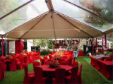 Напечатанный логос хлопает вверх большой напольный шатер случая, шатер выставки