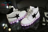 2016 новых продуктов ботинок СИД высоких верхних, ботинок обязанности USB ботинок СИД