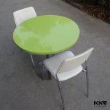 Tabelle di superficie solide rotonde su ordinazione della mobilia del ristorante della Cina (T1704261)